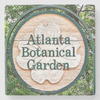 Botanical Garden Atlanta Landmark Marble Stone Coa Stone Beverage Coaster