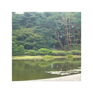 Botanical Garden, Tokyo, Japan Canvas Print