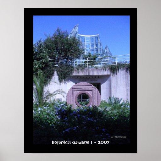 Botanical Gardens 1 - 2007 Posters
