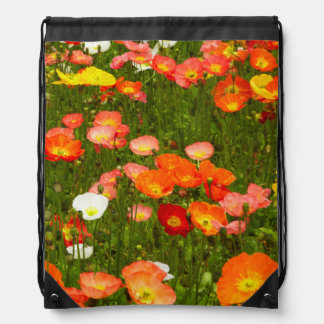 Botanical gardens drawstring bag