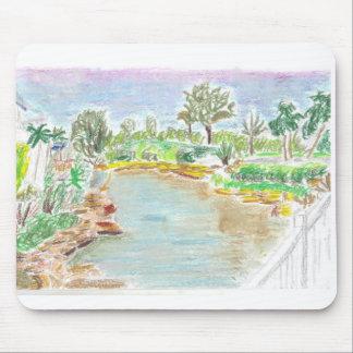 Botanical Gardens in Florida Mouse Pad