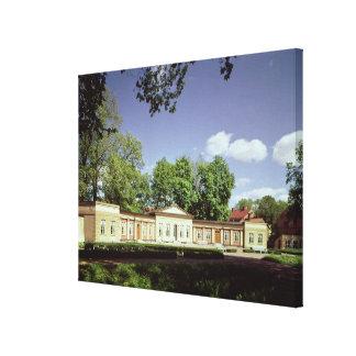 Botanical Gardens Orangery Gallery Wrapped Canvas