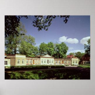 Botanical Gardens Orangery Poster