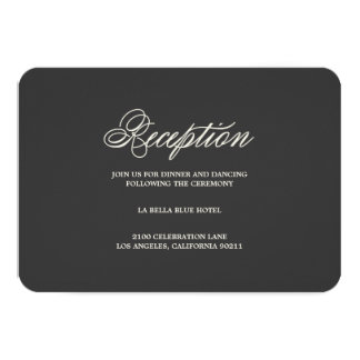 Botanical Glamour | Reception Enclosure Card