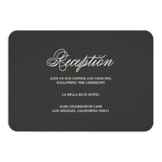 Botanical Glamour | Reception Enclosure Card 9 Cm X 13 Cm Invitation Card