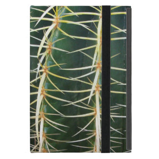 Botanical Green Sphere Cactus Cover For iPad Mini