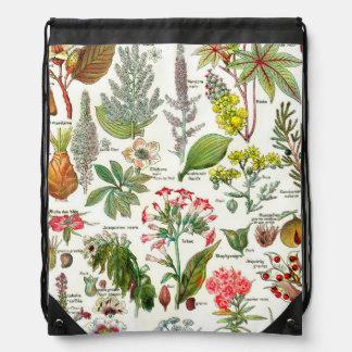 Botanical Illustrations - Larousse Plants Backpacks