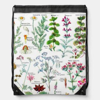 Botanical Illustrations - Larousse Plants Rucksacks