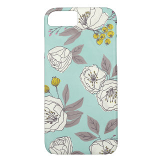 Botanical in Blue iPhone 8/7 Case