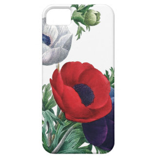 BOTANICAL iPhone 5 case Poppy Anemones