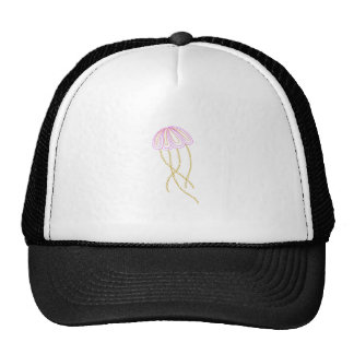 BOTANICAL JELLYFISH TRUCKER HATS