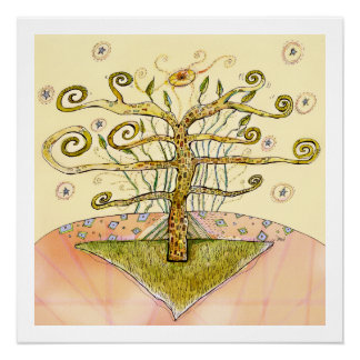 Botanical Machinery -Tree of Life Archival Print