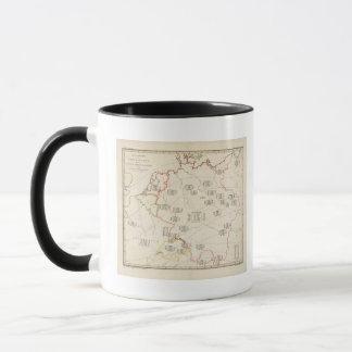 Botanical Map of Germany Mug