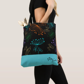 Botanical Nights Tote Bag
