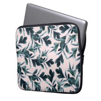 "Botanical Pattern laptop sleeve 13"""