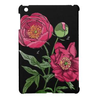 Botanical | Pink Peony flower iPad Mini Cases