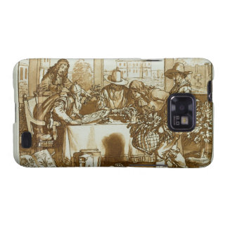 Botanists examining plants (litho) samsung galaxy s2 cover