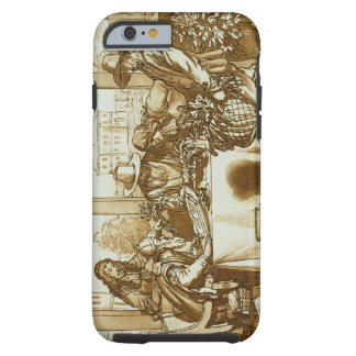 Botanists examining plants (litho) tough iPhone 6 case