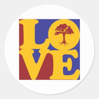 Botany Love Round Sticker