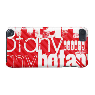 Botany; Scarlet Red Stripes iPod Touch (5th Generation) Covers