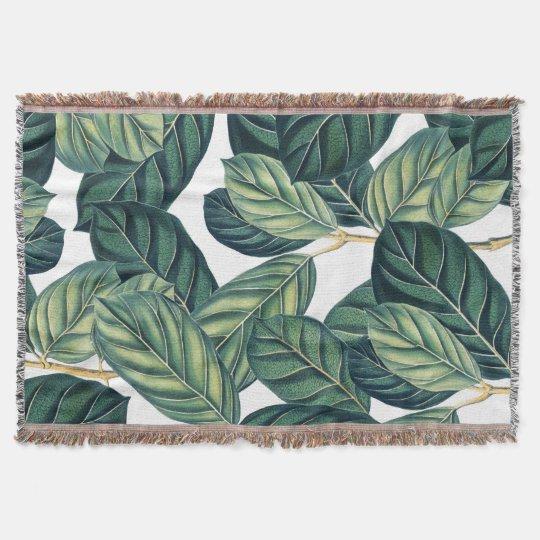 Botany Throw Blanket