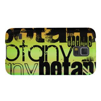 Botany; Vibrant Green, Orange, & Yellow Case For Galaxy S5