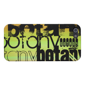 Botany; Vibrant Green, Orange, & Yellow iPhone 5/5S Cover