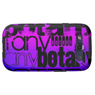 Botany; Vibrant Violet Blue and Magenta Samsung Galaxy S3 Covers