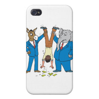Both Parties Suck iPhone 4/4S Cover