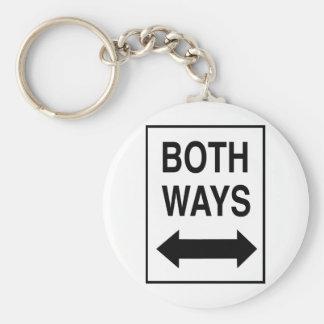Both Ways Key Chain