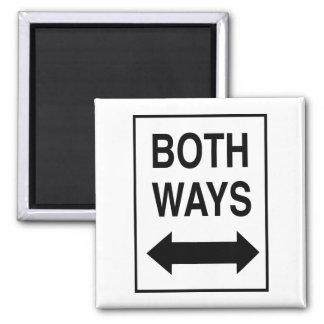 Both Ways Refrigerator Magnets
