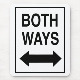 Both Ways Mouse Pad