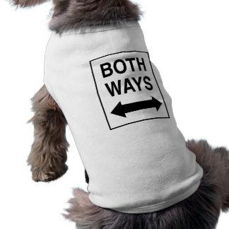 Both Ways Pet Tee