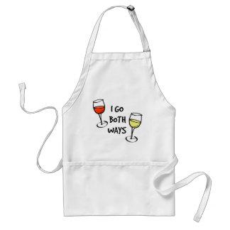 Both Ways Wine Glasses Standard Apron