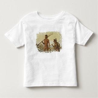 Botocudos family, Rio Grande, Brazil, from 'Le Cos Toddler T-Shirt