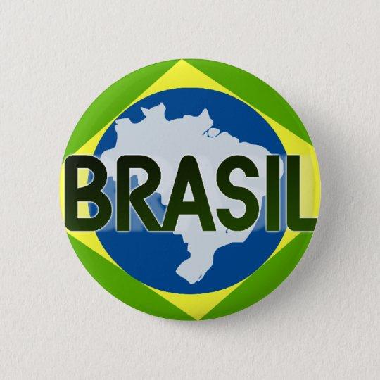 Botom Brazil 002 6 Cm Round Badge