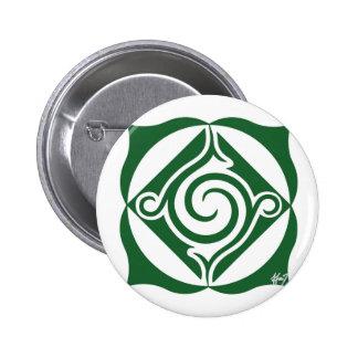 botom mandala mandala 6 cm round badge