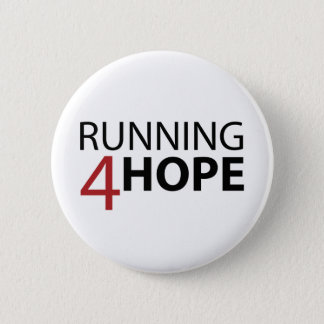 Bóton Running4Hope 6 Cm Round Badge