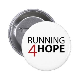 Bóton Running4Hope 6 Cm Round Badge