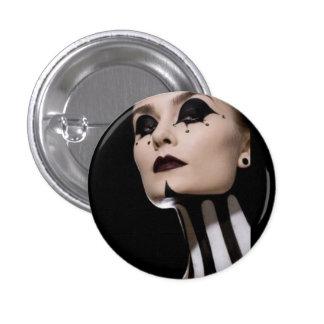 Boton Woman Clown 3 Cm Round Badge
