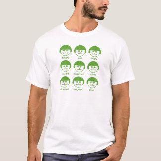 Botox Green Print Basic T-shirt