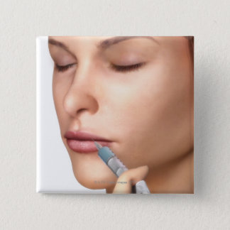 Botox Injections 15 Cm Square Badge