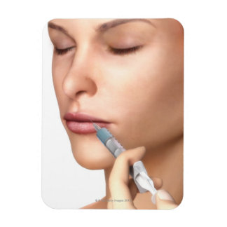 Botox Injections Rectangular Photo Magnet
