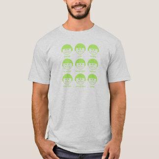 Botox LGreen Print Basic T-shirt