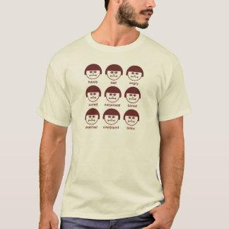 Botox Maroon Print Basic T-shirt