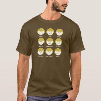 Botox Ocra Print Dark Basic T-shirt