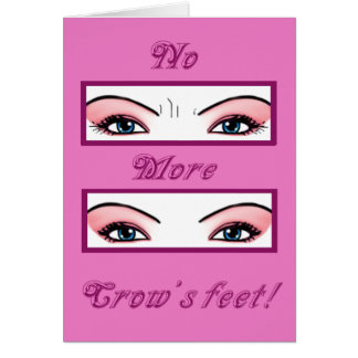 Botox Party Invites Card