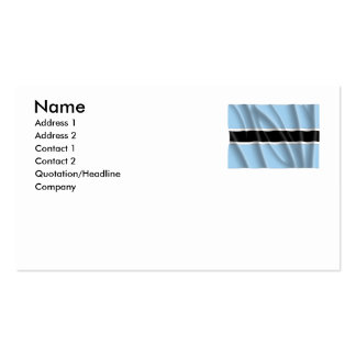 BOTSWANA PACK OF STANDARD BUSINESS CARDS