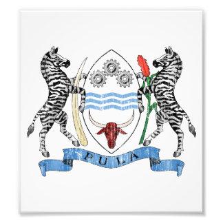 Botswana Coat Of Arms Photograph