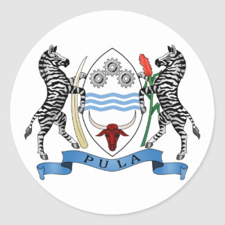 Botswana Coat of Arms Sticker